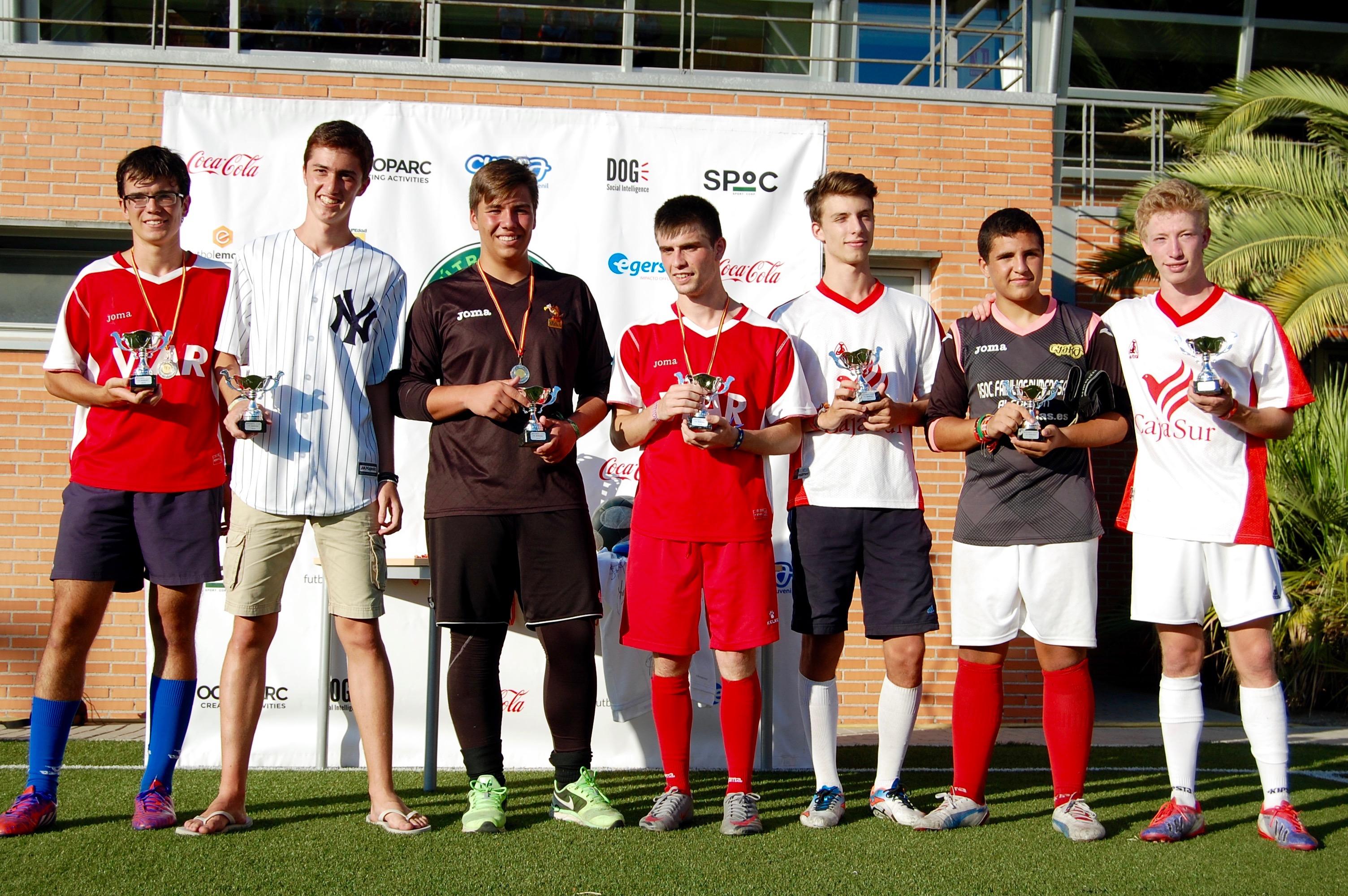 Trofeos FútbolCup 2016 07 siete jugadores ideales